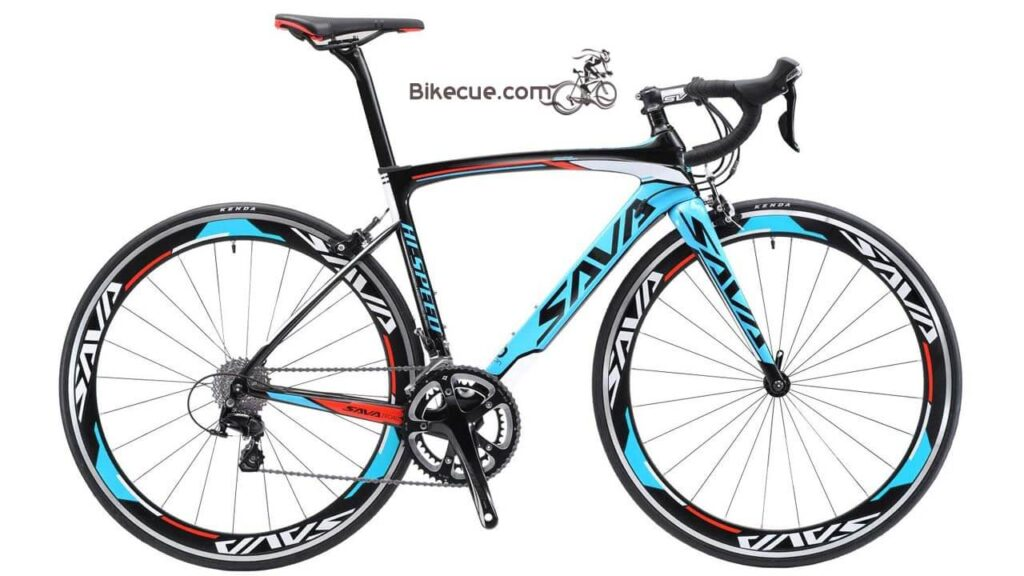 SAVADECK Carbon Road Bike, Warwinds3.0 700C Carbon Fiber Racing Bicycle