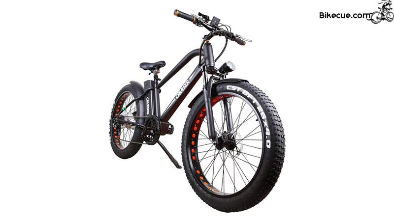 500W Fat Tire Mountain E-Bike